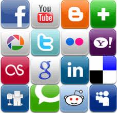 e has multiple accounts on social media