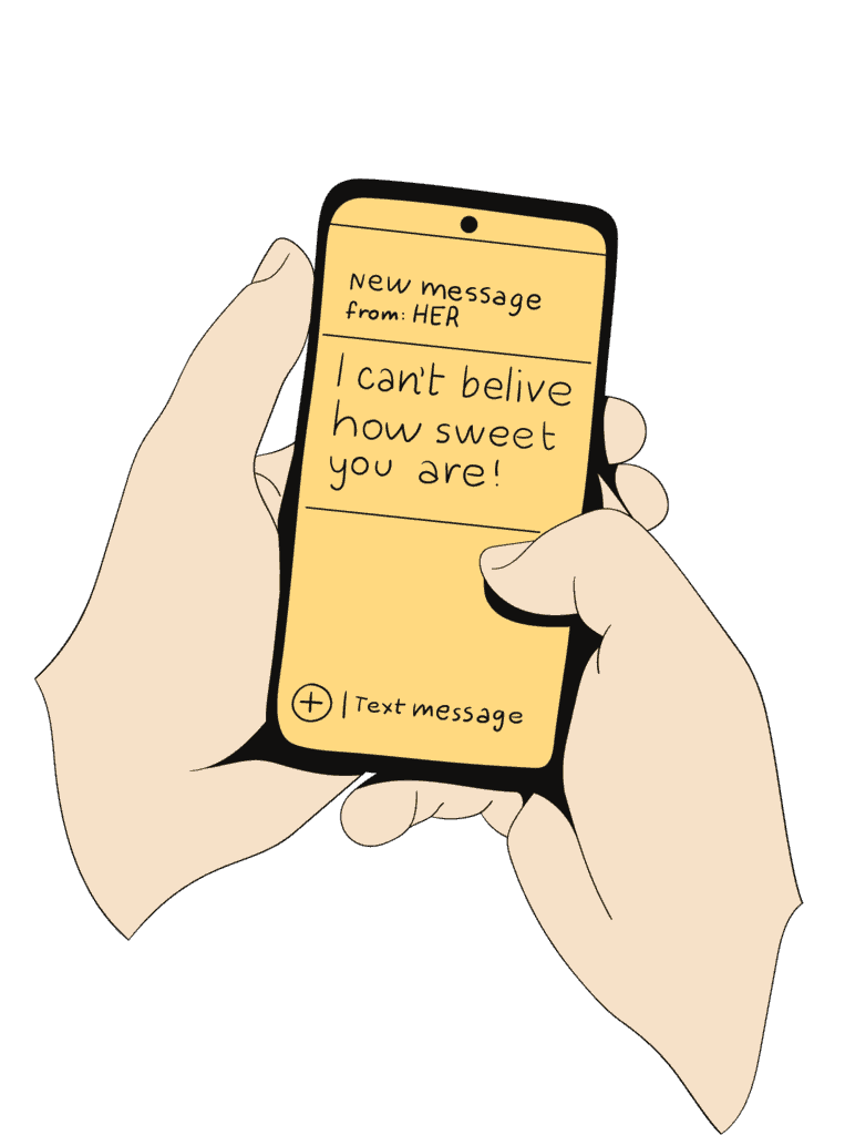 Him want things make text a to to you guy Sexy Texts